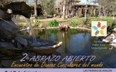 """""""2do. ABRAZO ABIERTO"""" Encuentro de DANZAS CIRCULARES del mundo"""